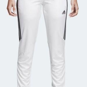 Women's ADIDAS Training Pants Black White XL